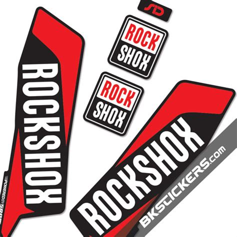 Rock Shox Logo Stickers by Pin Sticker Rock Shox Logo On Pinterest