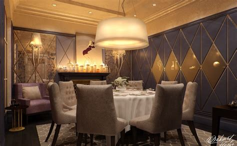 luxury contemporary dining room interior design ideas