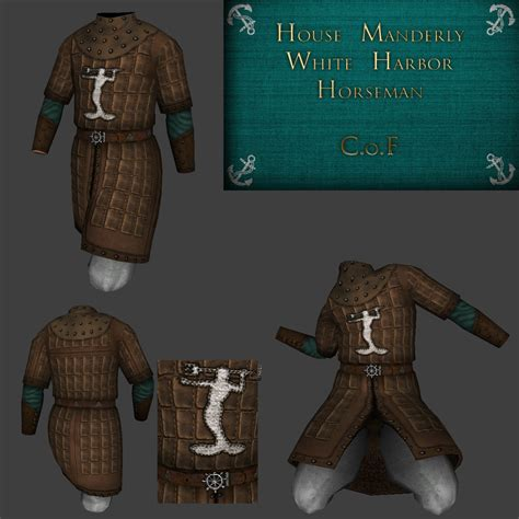 house manderly armour house manderly image a game of thrones wb mod for mount blade warband mod db
