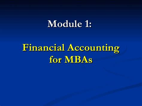Most Cost Effective Mba by Financial Accounting For Mbas Solutions Manual