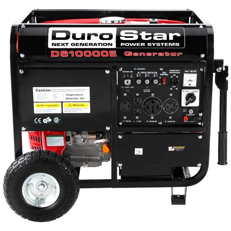 durostar ds10000e 10000w portable gas electric start generator