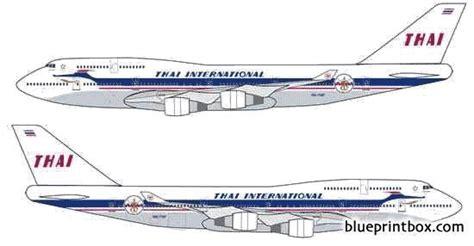 boeing 747 400 plan si鑒es boeing 747 400 plans aerofred free model