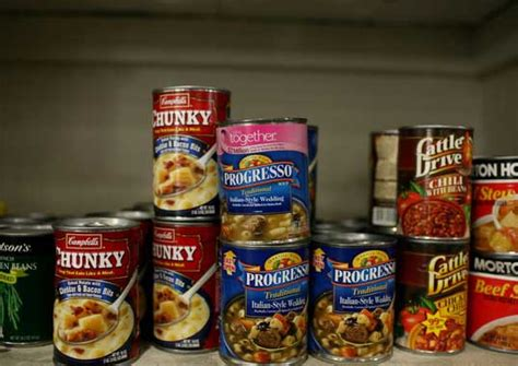 Shelf Study Of Food Products by Study Shows Bpa Found In Most Canned Foods Inhabitots