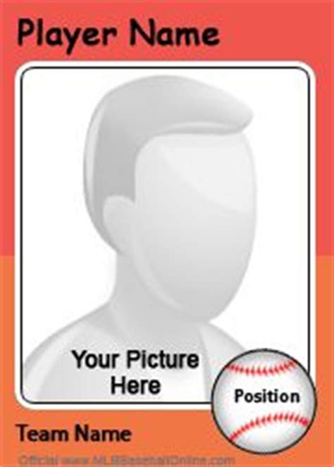 Make Baseball Card Template by 1000 Images About Reading Fair Board On