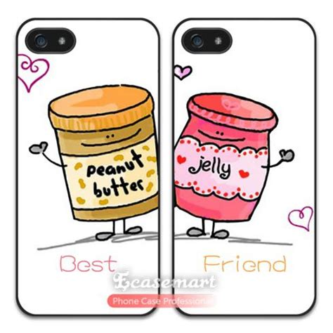 friend peanut butter jelly case  iphone