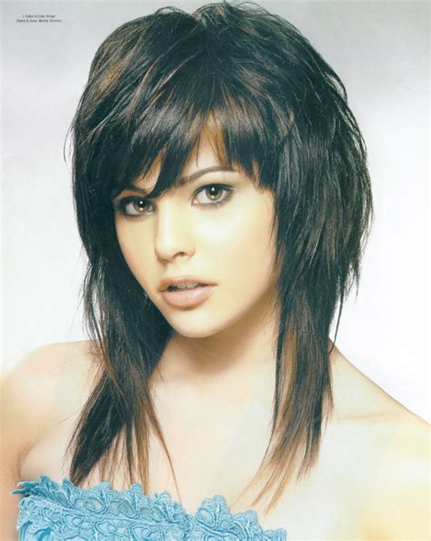 long shag with bangs 56 best images about time for a change on pinterest