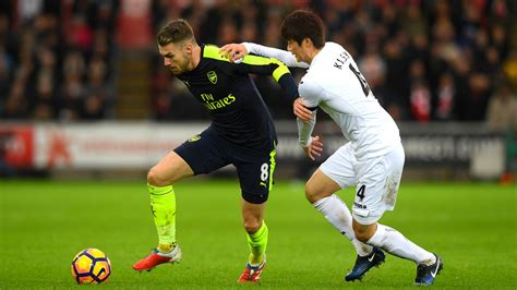 arsenal vs swansea swansea 0 4 arsenal match report highlights