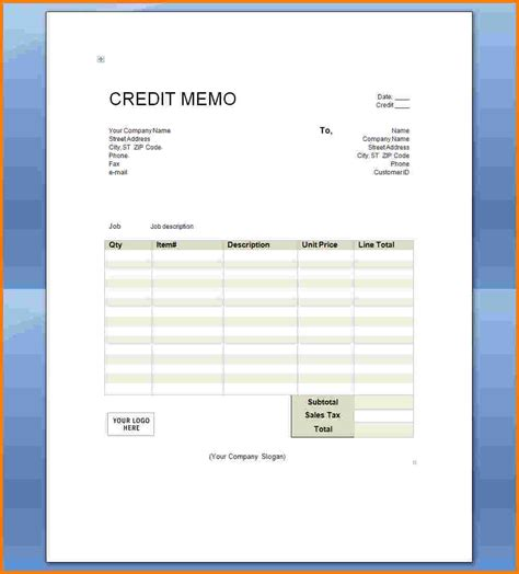 sle memo template microsoft word credit memo sle www imgkid the image kid has it