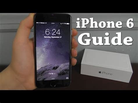 iphone 6 complete beginners guide