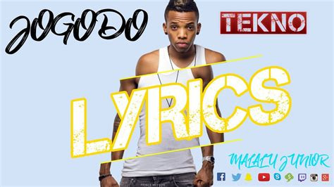 tekno jogodo tekno jogodo official lyrics video youtube