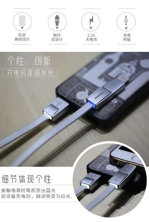 Remax Strive Cable 2 In 1 Micro Lighting Charger remax 2 in 1 strive cable for apple lightning and android