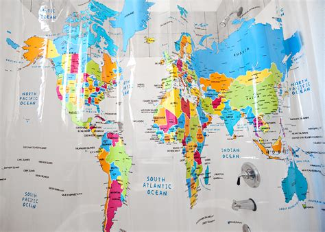 10 Creative Shower Curtains