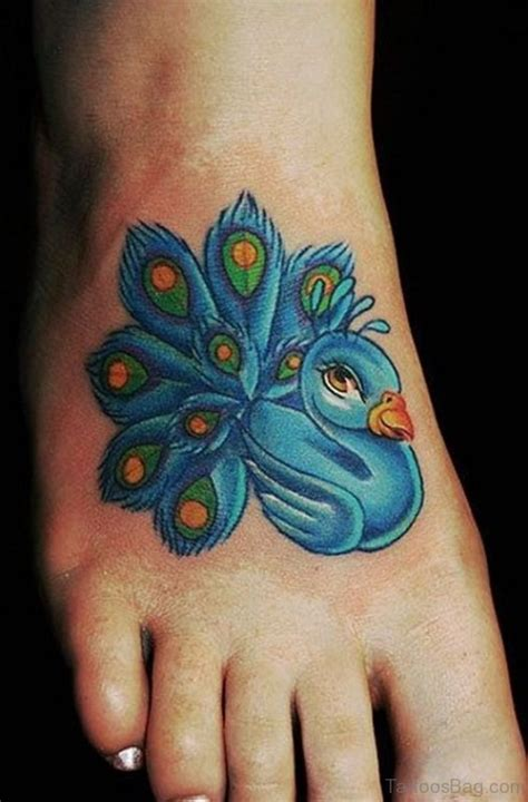 peacock foot tattoo designs 56 awesome peacock on foot
