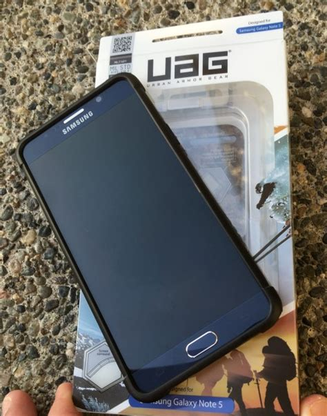 Uag Casing Samsung Galaxy Note 5 Armor Gear Back Cover on with the armor gear scout for samsung