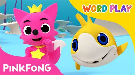 Baby Shark Word Play | move like the baby shark word play pinkfong songs for