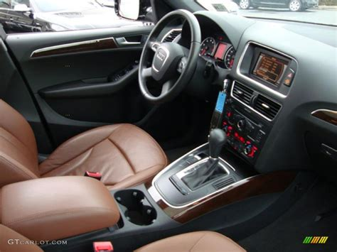 Audi Q5 Brown Interior by 2010 Audi Q5 3 2 Quattro Cinnamon Brown Dashboard Photo