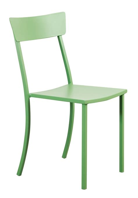 galvanized metal outdoor chairs outdoor stacking chair in galvanized metal idfdesign
