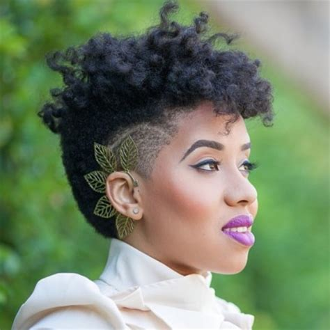 best gel for tapered relaxed hair 25 tapered fro inspirations for naturals of every length