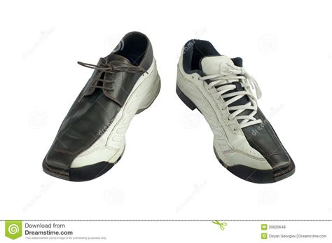 sport dress shoes sports and dress shoes royalty free stock photos image