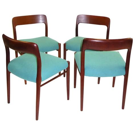 Jl Furniture by Four Niels Otto M 248 Ller Teak Dining Chairs For Jl M 248 Ller 1954 For Sale At 1stdibs
