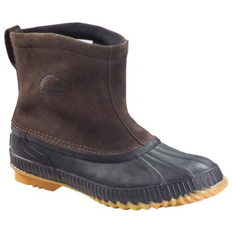 sorel mens arapaho pull on winter boots