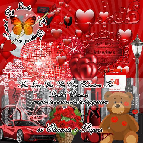 city valentines s creations for the city valentines kit