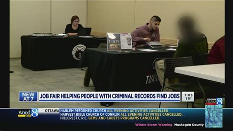 Careers For Those With A Criminal Record Fair Helps Those With Criminal Records Find Employment