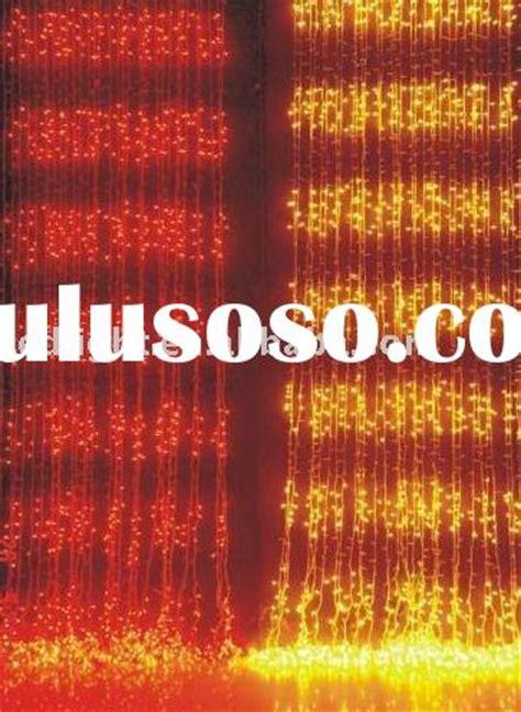 waterfall curtain christmas lights led curtain light stock christmas light icicle light for