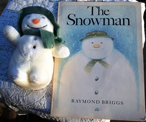 the snowman picture book the snowman by raymond briggs book and original stuffed
