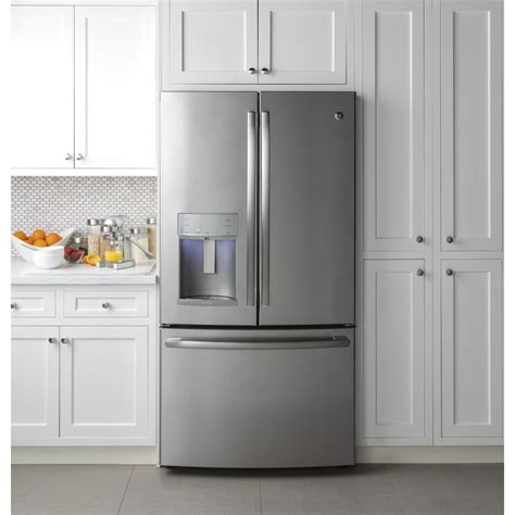 Ge Profile Refrigerator Cabinet Depth by Pye22kskss Ge Profile 36 Quot 22 2 Cu Ft Counter Depth
