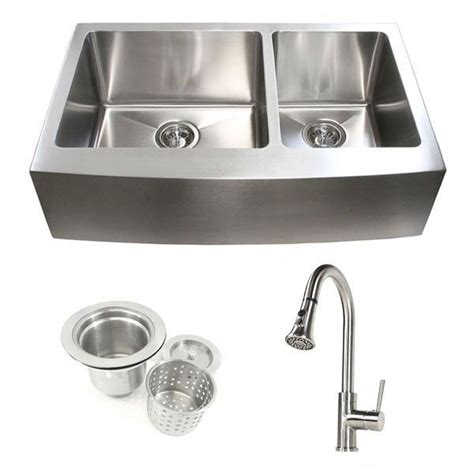 curved stainless steel sink faucets kitchens island sinks white 33 inch stainless steel curved front farm apron kitchen