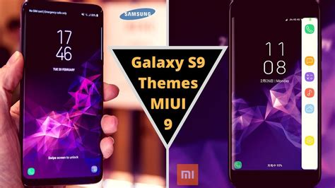 miui themes for redmi note top 3 galaxy s9 themes for miui 8 miui 9 third party