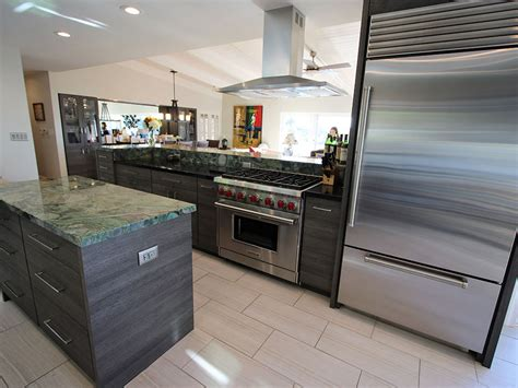 modern open concept kitchen an artistic contemporary open concept kitchen remodel in