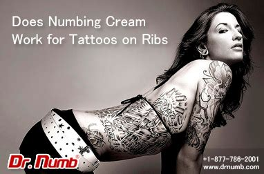 numbing cream before tattoo does numbing work for tattoos on ribs dr numb