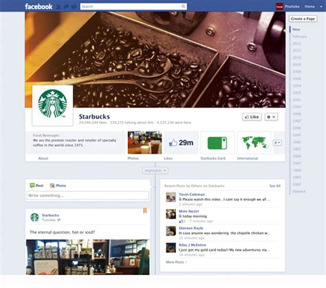 facebook themes business facebook business pages created with new timeline layout