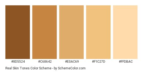 skin color hex code real skin tones color scheme 187 brown 187 schemecolor