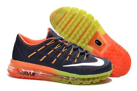Sepatu Running Nike Airmax 2016 Black Import nike air max 2017 blue shoes airmax2017 050 64 99