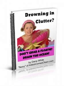 drowning in books new free e book from my a slob comes clean