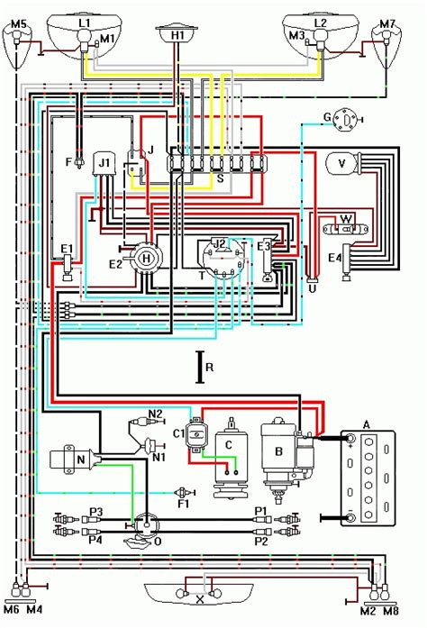 1974 vw wiring diagrams on 1974 images wiring diagram