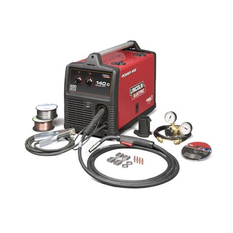 lincoln power mig k2471 2 140c mig welder with magnum pro