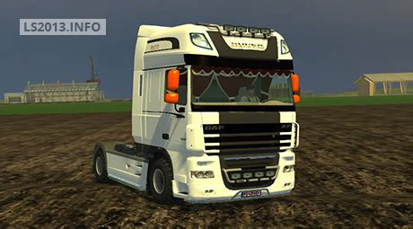 Energy Ls And Lighting by Daf Xf 105 Space Cab V 1 0 Ls 2013 Mods