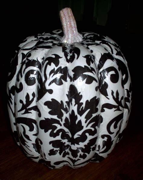 Decoupage Pumpkin - guest post by how to decoupage foam pumpkins