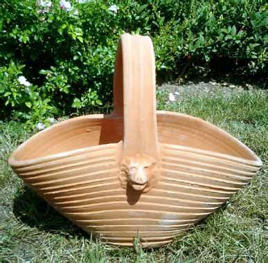 terracotta vasi vasi terracotta cesto bm40 terracotta
