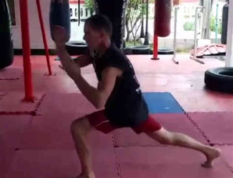 muay thai exercises conditioning with andy thomson