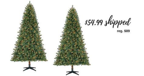 cvs christmas trees pre lit pre lit 7 duncan fir artificial tree 54 99 shipped reg 89 southern savers