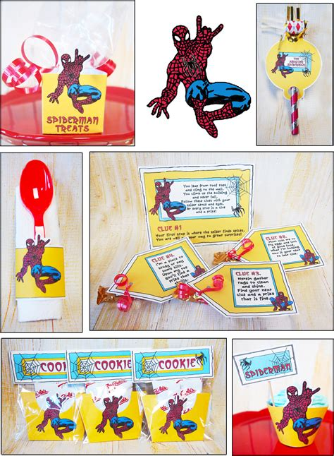 pattern party ideas parties and patterns spiderman party ideas