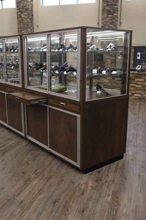 display cabinets for retail stores thunderbird gun store showcase gallery display smart blog