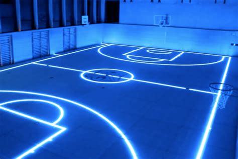 glow in the paint nbs 23 of the most amazing unique basketball courts you will