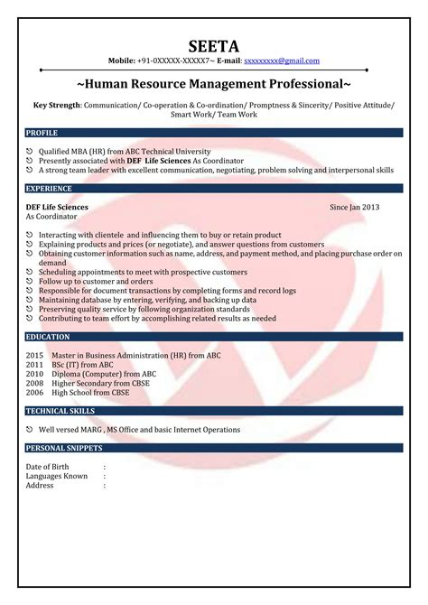 resume samples for freshers resume for freshers looking for the