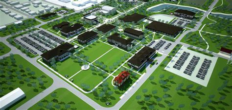 Murray State Finder Phased 270 Acre Cus Master Plan For Murray State College Education Rees